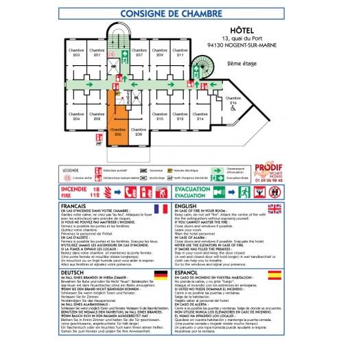 PLAN DE CHAMBRE A4 STANDARD