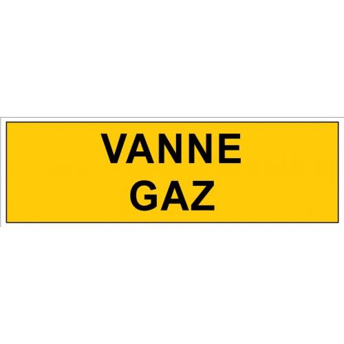 PLAQUE VANNE GAZ