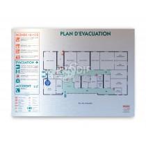 PLAN EVACUATION A3 DIBOND