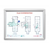 PLAN INTERVENTION A1 CADRE AMOVIBLE CLIC CLAC