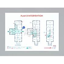 PLAN INTERVENTION A3 PLASTIFIÉ 5/10ème