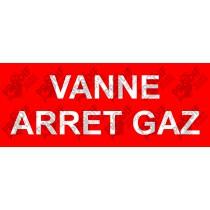 VANNE ARRET GAZ