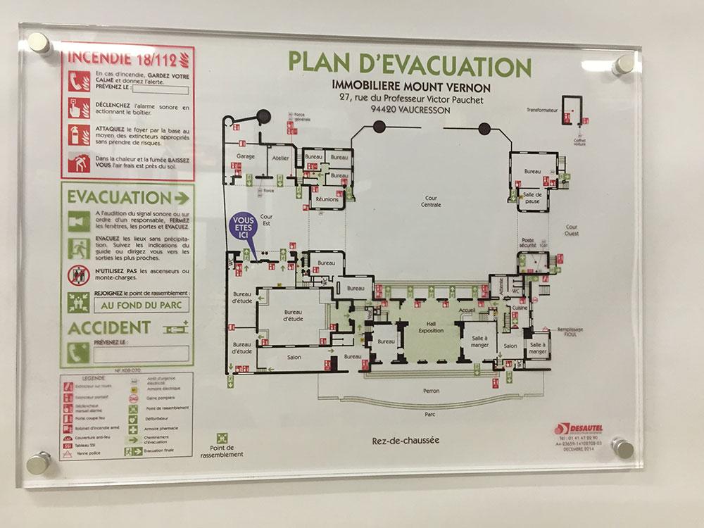 Plan Incendie